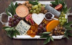 A French Cheese Platter & A French Cheese Platter | Recipe | French cheese Cheese platters ...