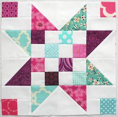 4x5 block for Pink Stitches