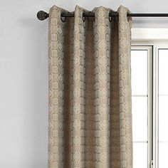 Inspired by the magnificent Silk Road brocades, timeless tribal motifs and the reflective shimmer of burnished gold and bronze, our jacquard antique blue Niagara Curtains turn a room into a showcase. Finely woven on the outside, and fully lined on the inside, this is one brilliant way to dress a window.