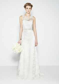 Most of us know + love Nicole Miller for figure-flattering special occasion dresses, but did you know she's also spread her talent into bridal wear? Blush Bridal, Bridal Gowns, Wedding Gowns, Nicole Miller Wedding Dresses, Wedding Dress Styles, Lookbook, Bridal Boutique, Bridal Collection, Book Collection
