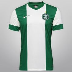 Camisa Nike Coritiba II 13/14 s/nº - Verde+Branco