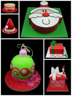 thema taartjes kerst
