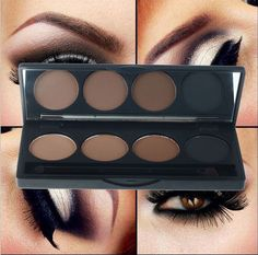 4 Color Eye Brow Makeup Waterproof Eyebrow Powder Pale High Quality Professional High Quality Professional 4 Color Eye Brow Makeup Waterproof Eyebrow Powder Palette Eye Shadow Pallete with Double End Brush-in Eyebrow Enhancers from Beauty amp Health High Quality Professional 4 Color Eye Brow Makeup Waterproof Eyebrow Powder Pale Item specifics Type: Eyebrow Enhancer. | eBay!  #eyeshadow #makeup #beauty