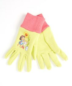 Take a look at this Dora Jersey Glove by Dora the Explorer on #zulily today!  $5.49