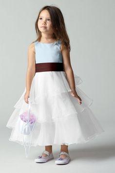 Seahorse Cassie Flower Girl Dress | Weddington Way $178