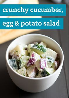 Potato Salad With Feta, Dill And Cucumber Recipe — Dishmaps