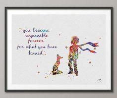 El príncipe Le Petit Principito con ilustraciones de por CocoMilla