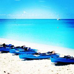 Tropical paradise on the beaches of Playa del Carmen...