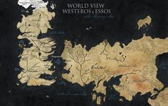 Map of the Seven Kingdoms of Westeros | no internet spawns more traveling and more traveling spawns more map ...