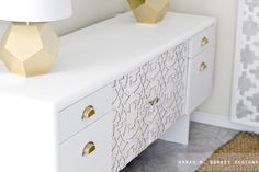 Commercial Office Credenza to Custom Credenza with Overlays