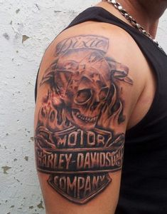 e2293d947b59e 22 Best Biker Tattoo images in 2014 | Harley tattoos, Harley ...