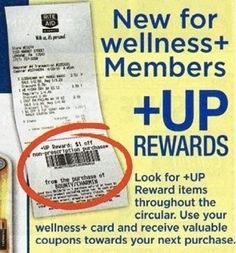 Couponing at RITE AID: which coupons to use, Wellness membership card, +up rewards program etc