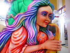 Carroza- Carnaval de Blancos y Negros. San Juan de Pasto, Colombia.