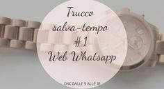 web whatsapp istruzioni