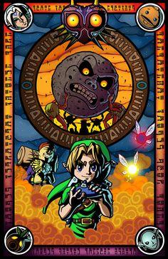 The Legend of Zelda, Majora's Mask Legend Of Zelda Midna, All Art, Otaku, Geek Stuff, Hero, Deviantart, Video Games, Nintendo, Ben Drowned