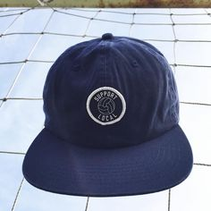 The Support Local  6-Panel Unstructured Cap | Now available in Navy