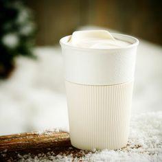 To Go Mug with Cream Sleeve, 8 fl oz. $10.95 at StarbucksStore.com