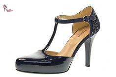 NERO GIARDINI femme dcollet connecté P717360DE / 208 taille 40 Bleu - Chaussures nero giardini (*Partner-Link)