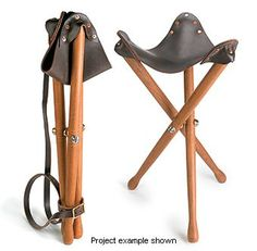 Lee Valley Campaign Stool Hardware - Woodworking