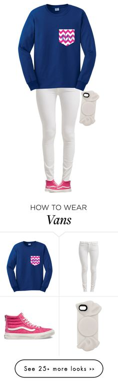 """Cute"" by meljordrum on Polyvore featuring 7 For All Mankind, Vans and Marc by Marc Jacobs"