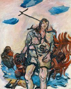 Der Hirte, 1965, by Georg Baselitz