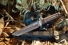 Kizlyar Aggressor Russian Made Titanium Tactical Knife Black >>> You could find even more information by seeing the picture web link. (This is an affiliate link). Swiss Army Pocket Knife, Best Pocket Knife, Types Of Knives, Knives And Swords, Cool Guns, Awesome Guns, Knife Stand, Tactical Pocket Knife, Engraved Pocket Knives