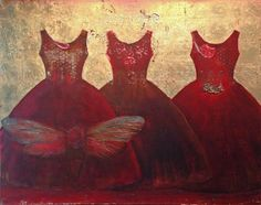 The Dreamers by Christina Chalmers - Paintings, Selby Fleetwood Gallery