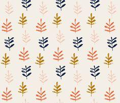 Sprig fabric by jillbyers on Spoonflower - custom fabric