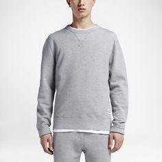 Converse Essentials Sportswear Crew Men's Sweatshirt Size Medium (Grey)