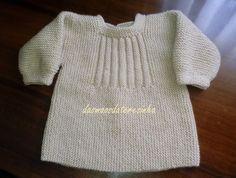 Desta vez tricotei este casaco para o bebé de 3 meses, que o irá vestir no próximo inverno. Segui o modelo do casaco verde que mostrei. Baby Sweaters, Knitting Designs, Baby Knitting, Baby Dress, Nice Dresses, Knit Crochet, My Style, Pattern, How To Wear