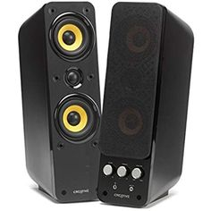 Creative GigaWorks T40 Series II. Lautsprecher 2.0 Stereo/AUX-IN, Line-IN/16W RMS schwarz