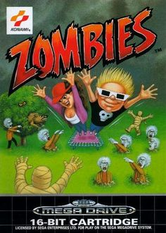 Zombies Ate My Neighbors for the SNES. #zombies #neighbors #snes #nintendo