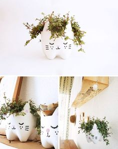 You Can Turn Plastic Bottles Into Cute Planters