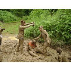 mud fights!!!
