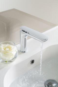KH Zero2 Monobloc Bathroom Basin Tap from Kelly Hoppen at Crosswater