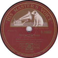 78 RPM - Alma Cogan - Bell Bottom Blues / Love Me Again - His Master's Voice - UK - B.10653