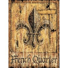 I pinned this French Quarter Wall Art from the Out of the Woodwork event at Joss and Main!