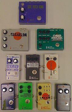 Sentience Studio: Last Gasp Art Laboratories effects pedals