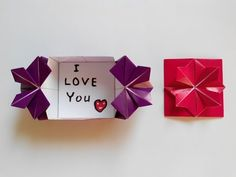 Конверт с цветком на застежке оригами, Envelope with flower clasp origami - YouTube