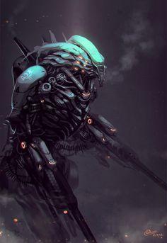 she-dreamt-she-was-a-killdozer:  D.E.Z 07 by ~syncmax