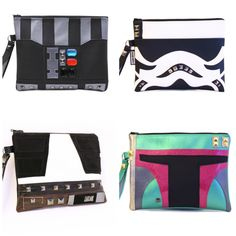Star Wars Clutches by SentFromMars: http://j.mp/1JDQOVF