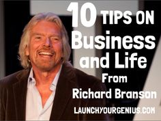 10 tips on Business and Life from Richard Branson