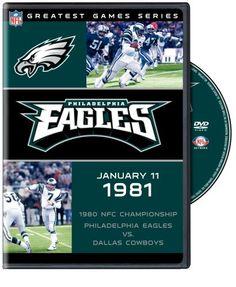 1978 NFC CHAMPION DALLAS COWBOYS   NFL: Greatest Games - Philadelphia Eagles 1980 NFC Championship Game