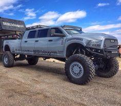 Love the diesel brothers(: Jacked Up Trucks, Ram Trucks, Dodge Trucks, Jeep Truck, Cool Trucks, Pickup Trucks, 6 Door Truck, Pick Up, Ram Runner