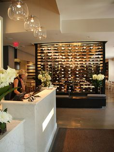 Need this wine wall in our house!
