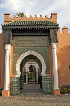 La Mamounia Hotel, Marrakech, Morocco