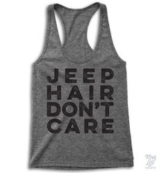 Jeep hair don't care!