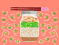 """""""Hudson has always loved Asian flavors…he takes after his mother in that way. This soba noodle salad combines a few of his favorite ingredients and flavors, and still enables me to feel like Ive given …"""