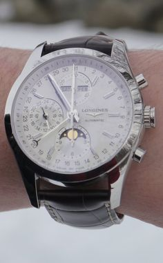 Chronographe Conquest Classic Moonphase                                                                                                                                                      More