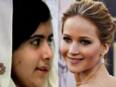 TIME magazine's most influential people list has been unveiled with the Pakistani schoolgirl who survived a Taliban assassination attempt among the names: Malala Yousafzi & JLaw   http://popwatch.ew.com/2013/04/18/jennifer-lawrence-headlines-time-100-list/  http://todayentertainment.today.com/_news/2013/04/18/17809276-jay-z-jennifer-lawrence-president-obama-top-times-100-most-influential-list?lite  http://www.guardian.co.uk/film/2013/apr/18/jennifer-lawrence-time-magazine